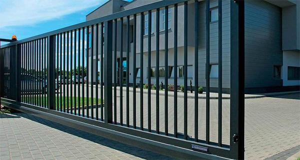 Консольные откатные ворота компания защита ворота автоматические вологде